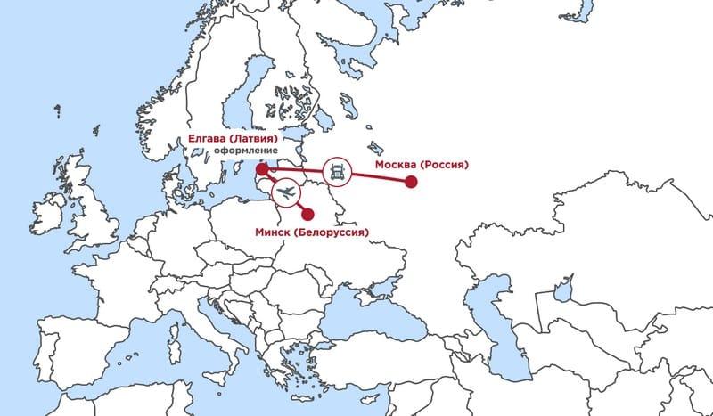 доставка груза из белоруссии в россию